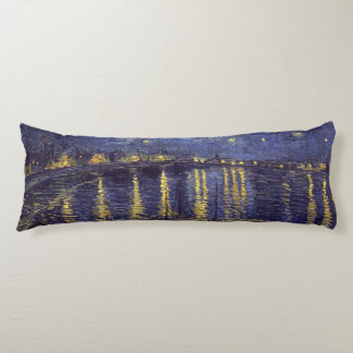 Vincent Van Gogh Starry Night Over The Rhone Body Pillow