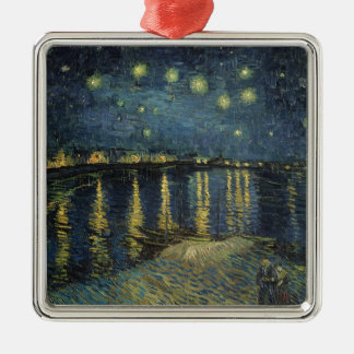 Vincent van Gogh | Starry Night Over the Rhone Metal Ornament