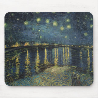 Vincent van Gogh | Starry Night Over the Rhone Mouse Pad