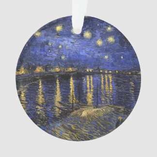 Vincent Van Gogh Starry Night Over The Rhone Ornament