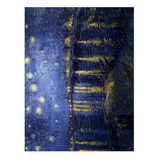 Vincent van Gogh Starry Night Over the Rhone , pai Post Cards