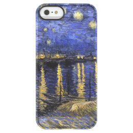Vincent Van Gogh Starry Night Over The Rhone Permafrost iPhone SE/5/5s Case