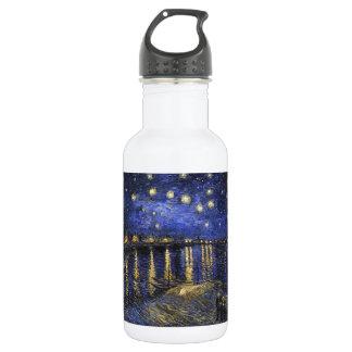 Vincent Van Gogh Starry Night Over The Rhone 18oz Water Bottle