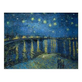 Vincent Van Gogh Starry Night Over the Rhone Postcard