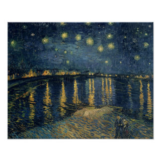 Vincent van Gogh | Starry Night Over the Rhone Poster