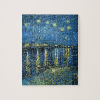 Vincent Van Gogh Starry Night Over the Rhone Jigsaw Puzzle
