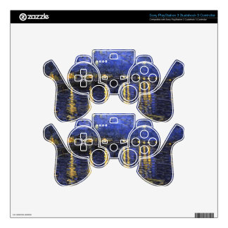 Vincent Van Gogh Starry Night Over The Rhone Skin For PS3 Controller
