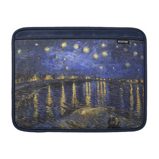 Vincent Van Gogh Starry Night Over The Rhone Sleeve For MacBook Air