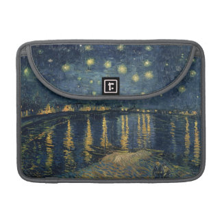 Vincent van Gogh | Starry Night Over the Rhone Sleeve For MacBook Pro