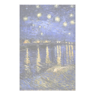 Vincent Van Gogh Starry Night Over The Rhone Stationery