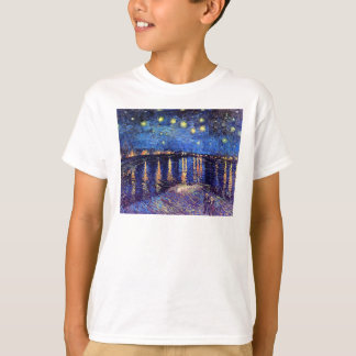 Vincent Van Gogh - Starry Night Over The Rhone T-Shirt