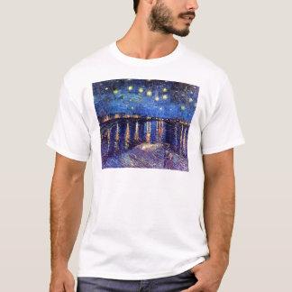Vincent Van Gogh - Starry Night Over The Rhone T-Shirt