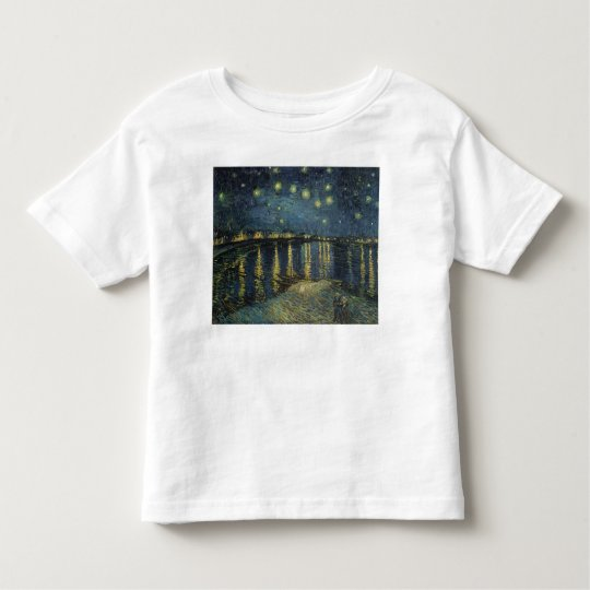 Vincent van Gogh   Starry Night Over the Rhone Toddler T-shirt