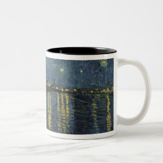 Vincent van Gogh | Starry Night Over the Rhone Two-Tone Coffee Mug