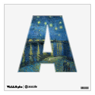Vincent Van Gogh Starry Night Over the Rhone Wall Sticker