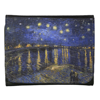 Vincent Van Gogh Starry Night Over The Rhone Wallets