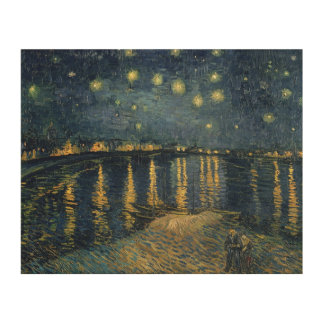 Vincent van Gogh | Starry Night Over the Rhone Wood Print