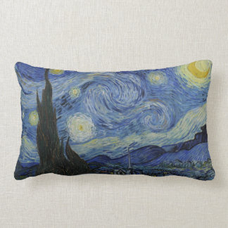 Vincent Van Gogh - Starry Night Throw Pillows