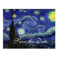 Vincent van Gogh, Starry Night Post Card