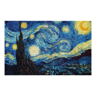 Vincent Van Gogh - Starry Night Poster