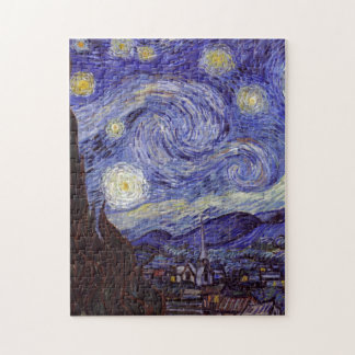 Vincent Van Gogh Starry Night Jigsaw Puzzle