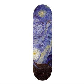 Vincent Van Gogh Starry Night Skateboards
