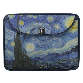 Vincent van Gogh Starry Night Sleeve Sleeve For MacBooks