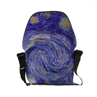 Vincent Van Gogh Starry Night Small Messenger Bag
