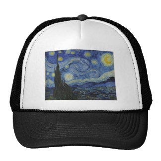 Vincent Van Gogh - Starry Night Trucker Hat
