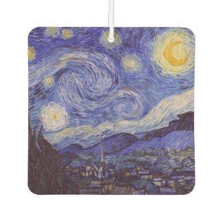 Vincent Van Gogh Starry Night Vintage Fine Art Air Freshener