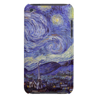 Vincent Van Gogh Starry Night Vintage Fine Art Barely There iPod Case