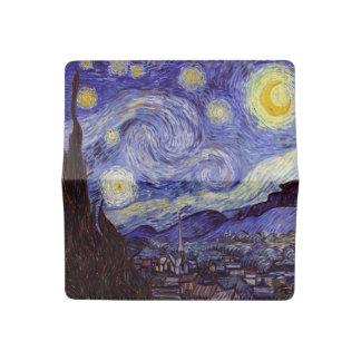 Vincent Van Gogh Starry Night Vintage Fine Art Checkbook Cover