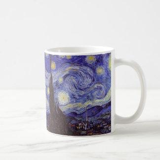 Vincent Van Gogh Starry Night Vintage Fine Art Coffee Mug
