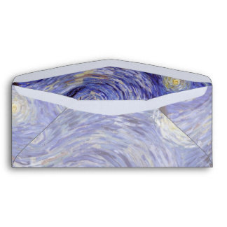 Vincent Van Gogh Starry Night Vintage Fine Art Envelopes