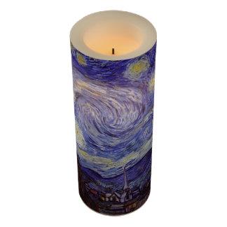 Vincent Van Gogh Starry Night Vintage Fine Art Flameless Candle