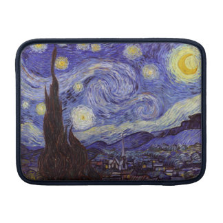 Vincent Van Gogh Starry Night Vintage Fine Art MacBook Air Sleeve