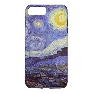 Vincent Van Gogh Starry Night Vintage Fine Art iPhone 8 Plus/7 Plus Case