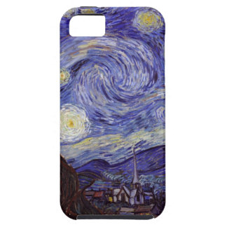 Vincent Van Gogh Starry Night Vintage Fine Art iPhone SE/5/5s Case