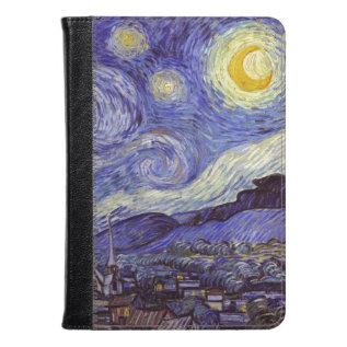 Vincent Van Gogh Starry Night Vintage Fine Art Kindle Case at Zazzle