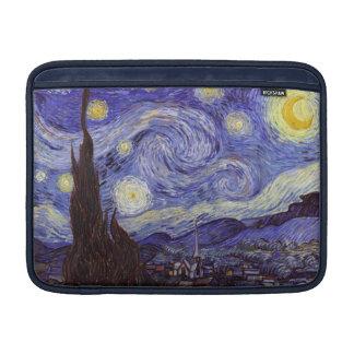 Vincent Van Gogh Starry Night Vintage Fine Art MacBook Sleeve