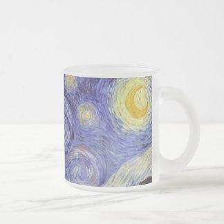 Vincent Van Gogh Starry Night Vintage Fine Art Coffee Mugs