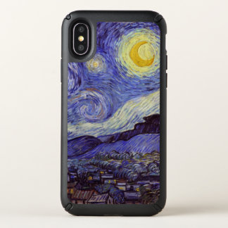 Vincent Van Gogh Starry Night Vintage Fine Art Speck iPhone X Case