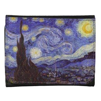 Vincent Van Gogh Starry Night Wallets