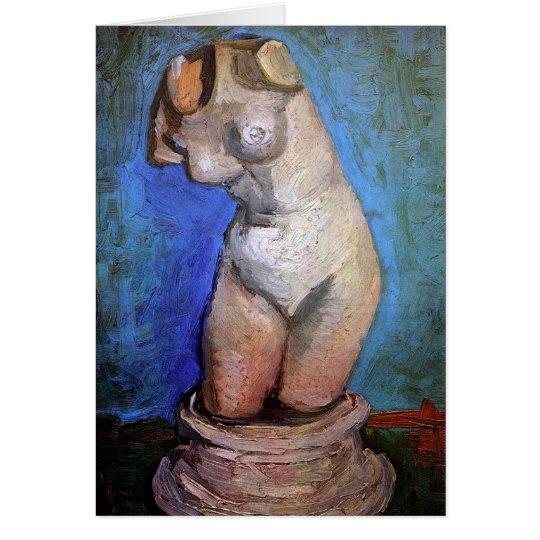 Vincent Van Gogh - Statuette Of A Female Torso Card