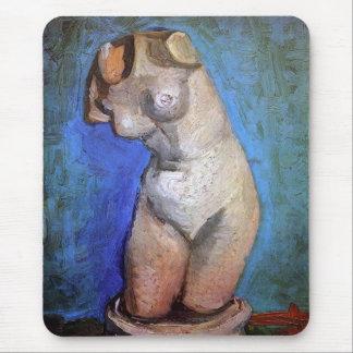 Vincent Van Gogh - Statuette Of A Female Torso Mouse Pad
