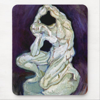 Vincent Van Gogh - Statuette Of A Kneeling Man Mouse Pad