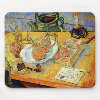 Vincent Van Gogh - Still Life Drawing Board Mouse Pad