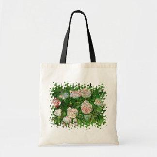 Vincent Van Gogh - Still Life Pink Roses Fine Art Tote Bag