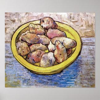 Vincent Van Gogh - Still Life Potatoes Fine Art Poster