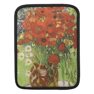Vincent van Gogh, Still life - Red poppies... Sleeve For iPads